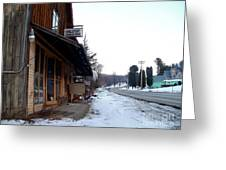Hallsport General Store Greeting Card
