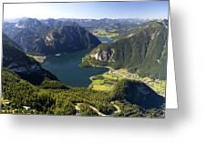 Hallstatt Lake Austria Greeting Card