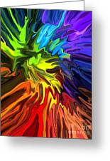 Hallucination Greeting Card by Chris Butler
