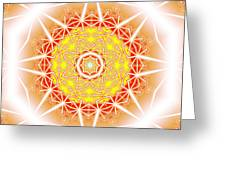 Halo Of Life Greeting Card