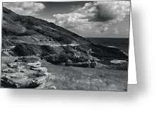Halona Blowhole Lookout- Oahu Hawaii Greeting Card