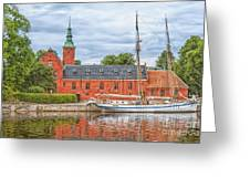 Halstad Castle 03 Greeting Card