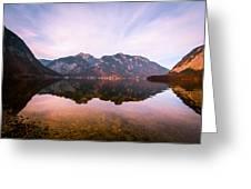 Halstatt Water 1 Greeting Card