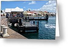 Hamilton Dock Greeting Card