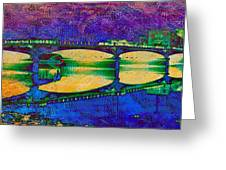 Hamilton Ohio City Art 6 Greeting Card