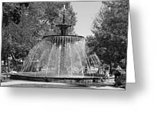 Hamilton Ontario Gore Park Fountain Greeting Card