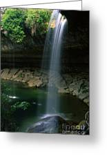 Hamilton Pool Nature Preserve Greeting Card