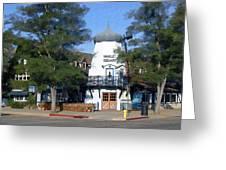 Hamlet Square Solvang California Greeting Card