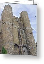 Hammond Castle Detail II Greeting Card