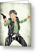 Han Solo From Star Wars Greeting Card