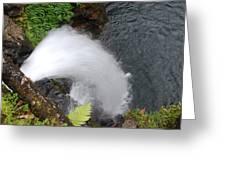 Hana Waterfall Greeting Card
