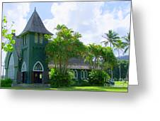 Hanalei Church Greeting Card