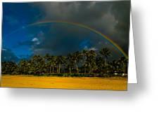 Hanalei Rainbow Greeting Card