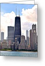 Hancock Building In Chicago Greeting Card