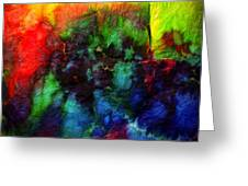 Hand Dyed 5 Greeting Card