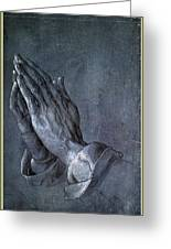 Hands Of An Apostle 1508 Greeting Card