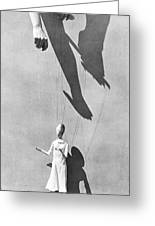 Hands Of The Puppeteer, 1929 Greeting Card by Tina Modotti