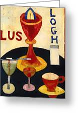 Handsome Drinks Greeting Card