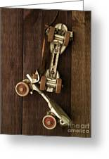 Hang Up Your Skates - Oil Greeting Card