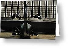 Hangar B Floyd Bennett Field Greeting Card