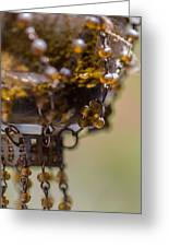 Hanging Beaded Votive Abstract 2 Greeting Card