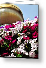 Hanging Flowers 6720 Greeting Card