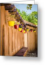 Hanging Pots Greeting Card