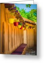 Hanging Pots - Watercolor Greeting Card