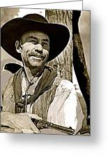 Hank Worden Publicity Photo Red River 1948-2008 Greeting Card