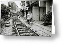 Hanoi Lifestyle Greeting Card