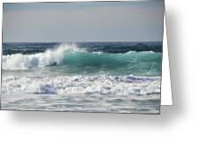 Happily At Sea Greeting Card