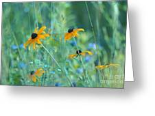 Happiness Is In The Meadows Greeting Card