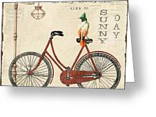 Happiness Is My Bicycle Greeting Card