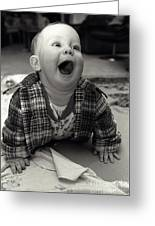 Happy Baby Greeting Card