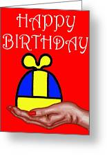Happy Birthday 2 Greeting Card by Patrick J Murphy