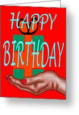 Happy Birthday 3 Greeting Card