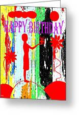 Happy Birthday 7 Greeting Card by Patrick J Murphy