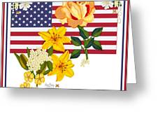 Happy Birthday America 2013 Greeting Card by Anne Norskog