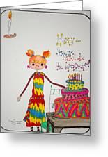 Happy Birthday Greeting Card by Mary Kay De Jesus