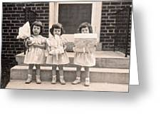 Happy Birthday Retro Photograph Greeting Card