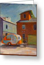 Happy Camper Greeting Card by Athena  Mantle