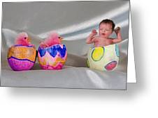 Happy Easter 3 Greeting Card