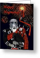 Happy Hogmanay Greeting Card
