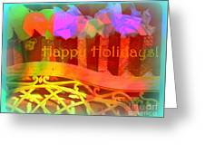 Happy Holidays - Christmas Packages - Holiday And Christmas Card Greeting Card