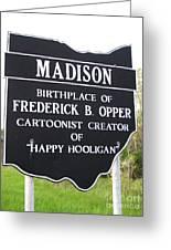 Happy Hooligan Greeting Card