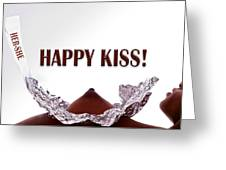 Happy Kiss Greeting Card