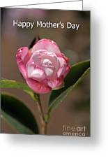 happy mother's day - Camellia Greeting Card