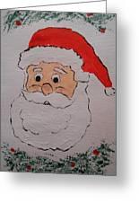 Happy Santa Claus Greeting Card