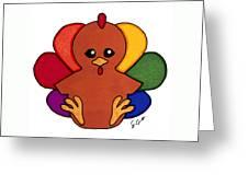 Happy Turkey Day Greeting Card