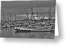 Harbor And Marina Monterey 2 Greeting Card